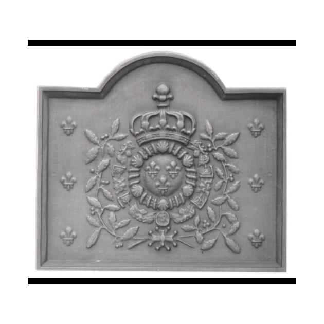 Plaque fonte Armes de France 72 x 63 cm