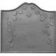 Plaque fonte La treille au lierre 80 x 72 cm