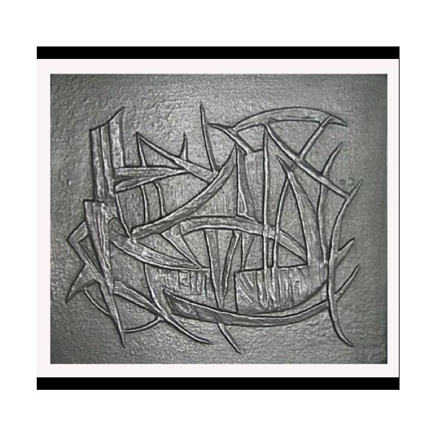 Plaque fonte Variations 80 x 70 cm