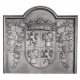 Plaque fonte Gascogne 86 x 78 cm