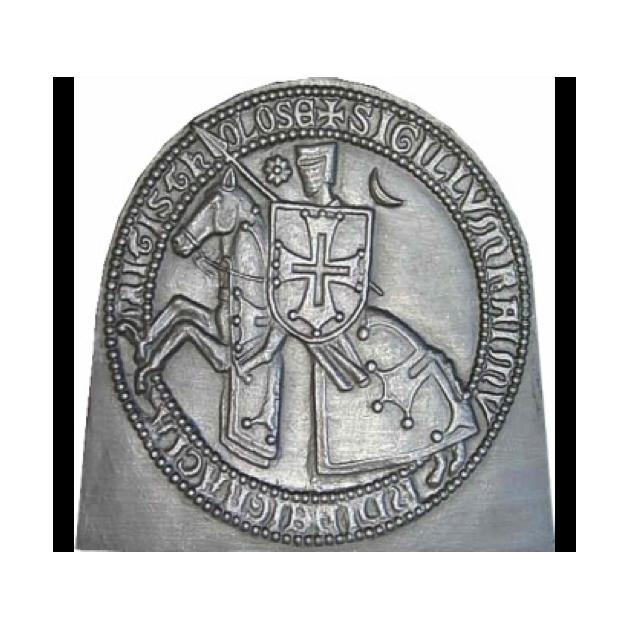 Plaque fonte Comte de toulouse 80 x 78 cm