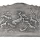 Plaque en fonte Chasse a courre 92 x 76 cm