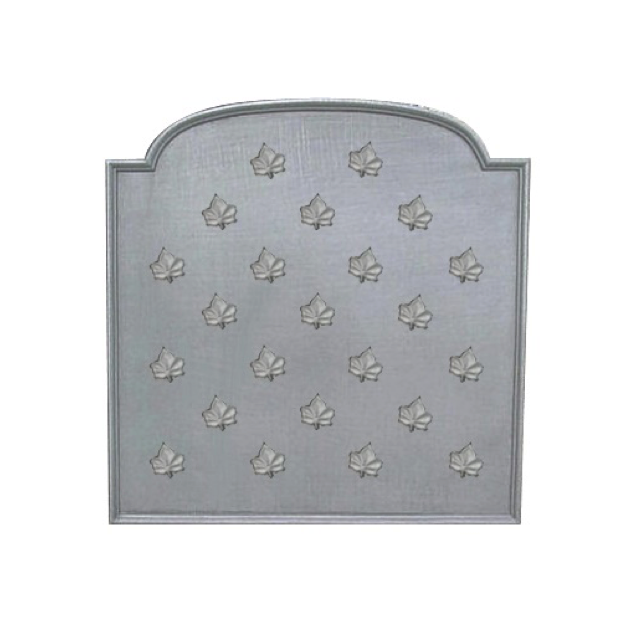 Plaque fonte Semis feuilles de lierre 90 x 90 cm