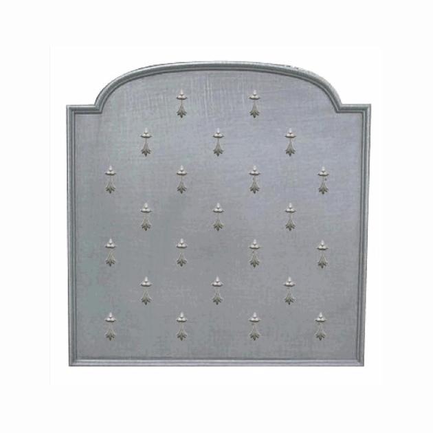 Plaque fonte Semis d'hermines 90 x 90 cm