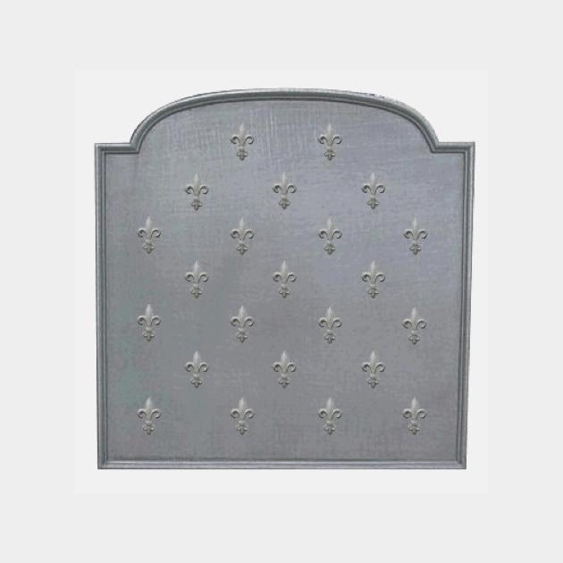 Plaque fonte Semis de lys 90 x 90 cm