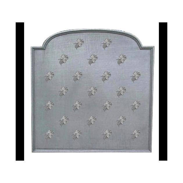 Plaque fonte Semis feuilles de vigne 90 x 90 cm