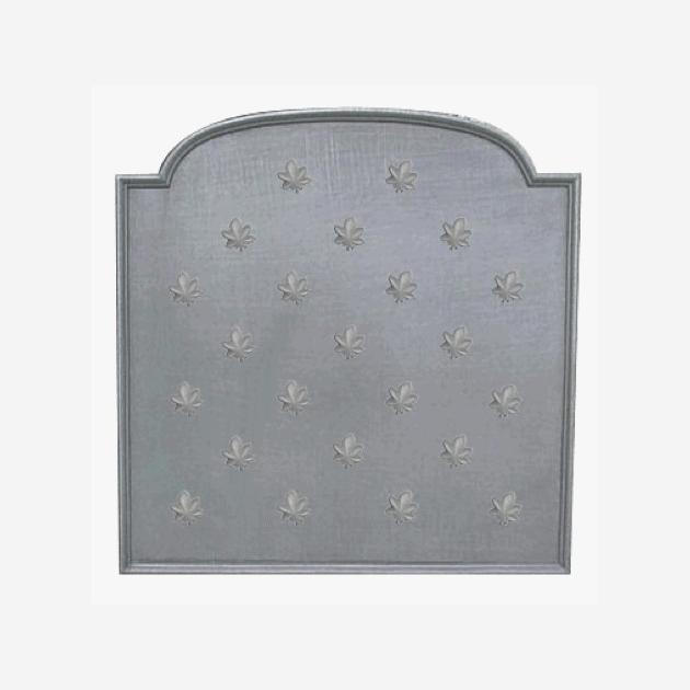 Plaque fonte Feuilles de marronnier 90 x 90 cm
