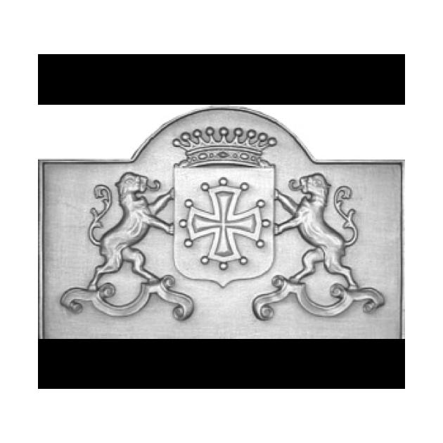 Plaque fonte Armes du languedoc 102 x 65 cm