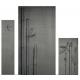 Plaque fonte Bambou osaka 100 x 90 cm