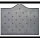 Plaque fonte Semis boutons d'or 110 x 90 cm