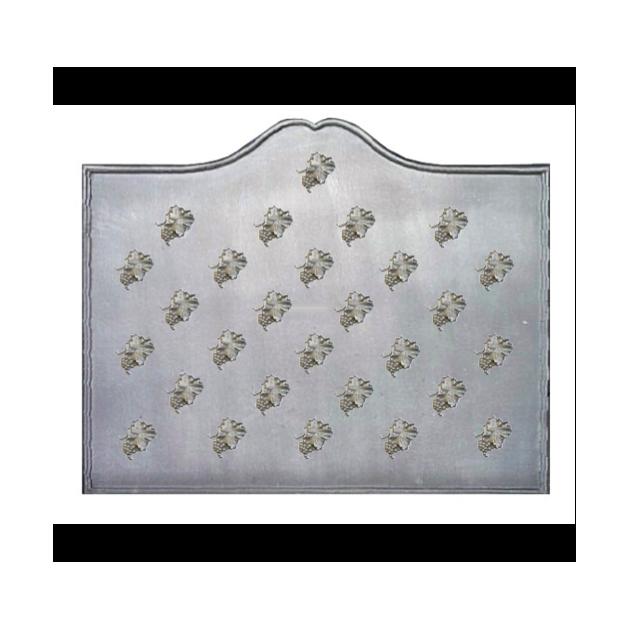 Plaque fonte Semis feuilles de vigne 110 x 90 cm
