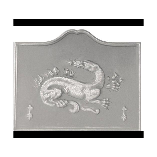 Plaque fonte Salamandre 110 x 90 cm