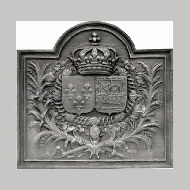 Plaque fonte Versailles 112 x 107 cm