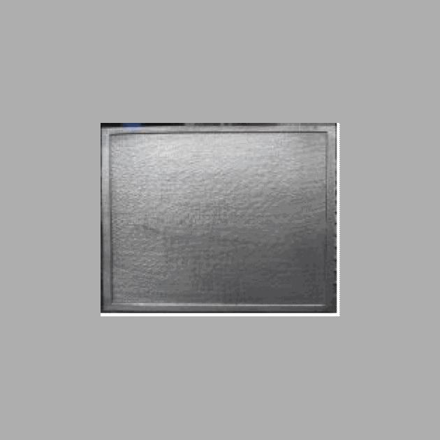 Plaque fonte Rectangle 70 x 50 cm