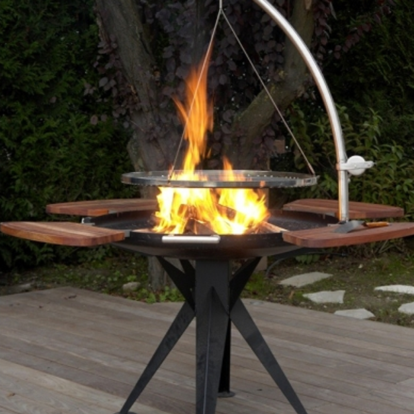 barbecue charbon nielsen balgrill 1200. Black Bedroom Furniture Sets. Home Design Ideas