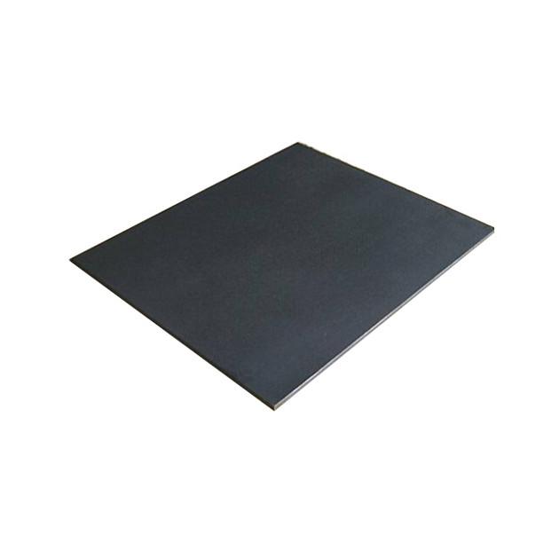 Plaque fonte cheminée mur et sol lisse 40 x 40 cm