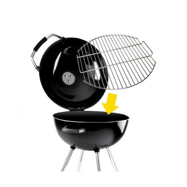 la grille de cuisson sauvic pour barbecue charbon weber 57 cm. Black Bedroom Furniture Sets. Home Design Ideas