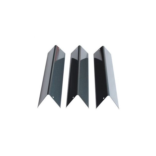 Barres flavorizer acier pour Weber Spirit 200 (brûleurs façade)