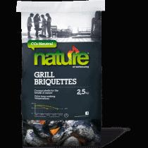 NATURE BRIQUETTES CHARBON 100% COCO - SAC 9KG