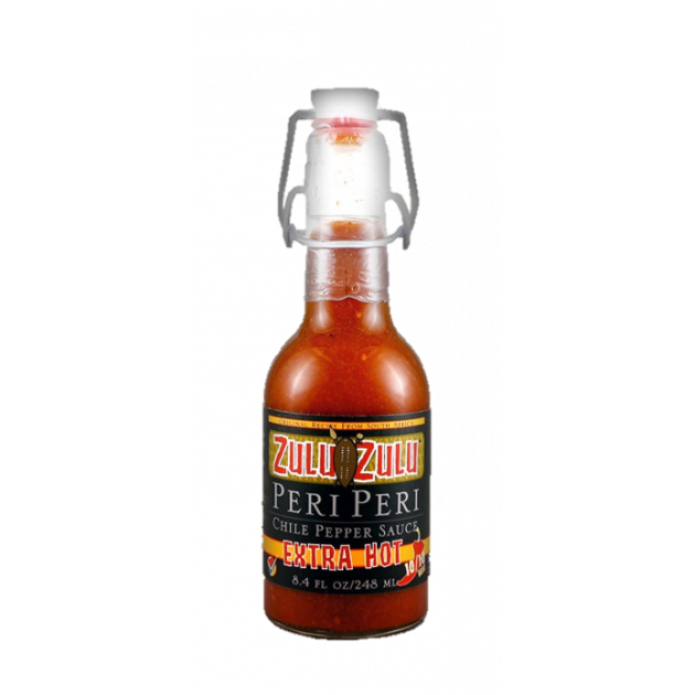 Sauce barbecue Zulu Zulu extra hot
