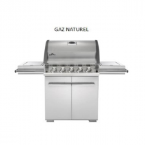 Barbecue gaz Napoleon LEX infrarouge inox 485 (GAZ NATUREL)