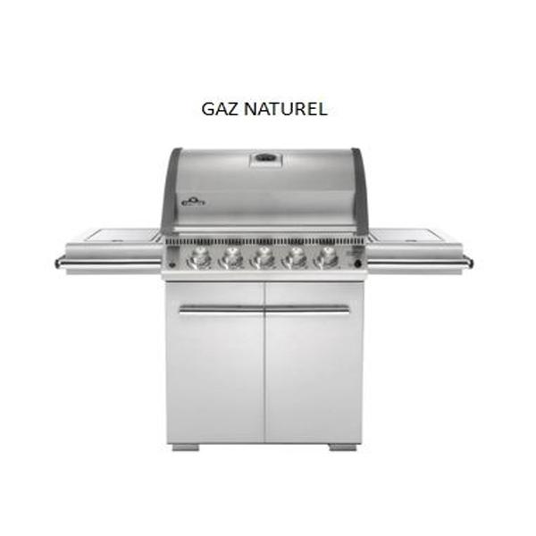 Le mod le lex 485 type 3 inox le barbecue gaz napoleon - Barbecue infrarouge gaz ...