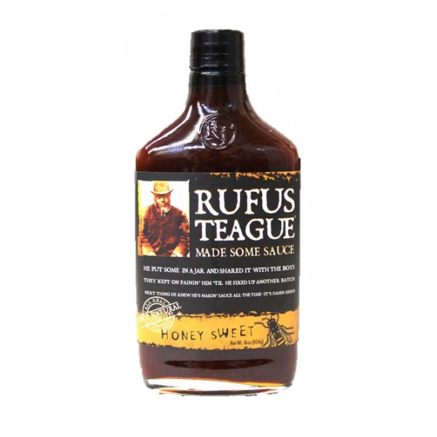 Sauce barbecue Rufus honey sweet