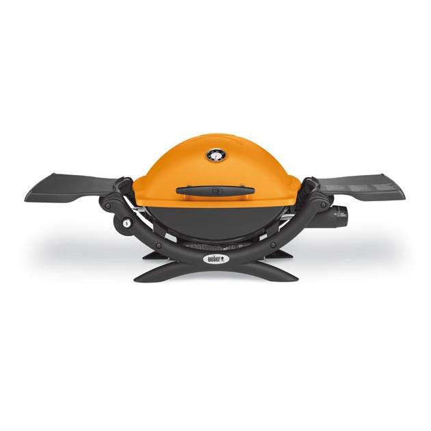 Barbecue gaz Weber Q 1200  orange