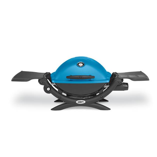 Barbecue gaz Weber Q 1200 bleu