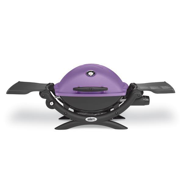 Le mod le q1200 vioet le barbecue gaz weber poser sur chariot desserte - Recettes barbecue weber gaz ...