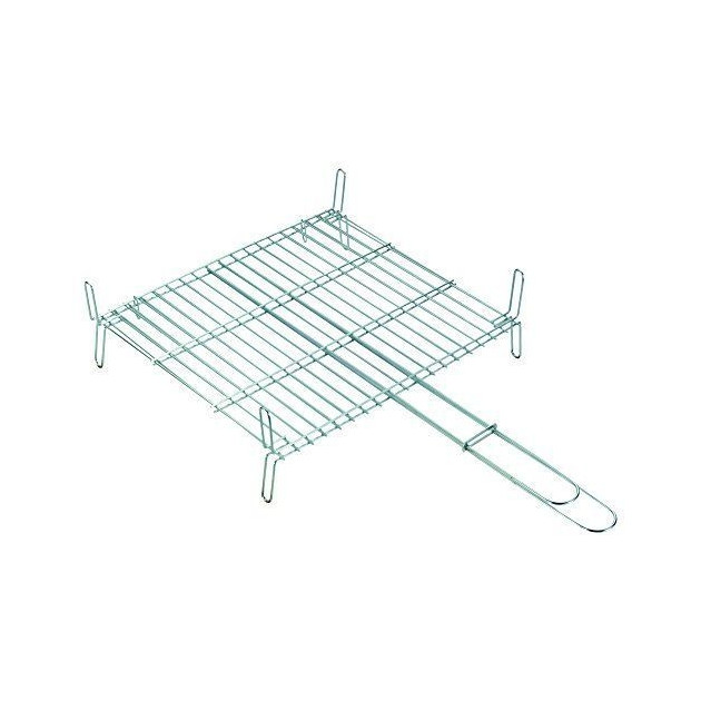 Grille inox Sauvic (double) 40X45