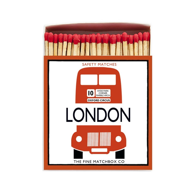 Allumettes collector London bus 11 cm