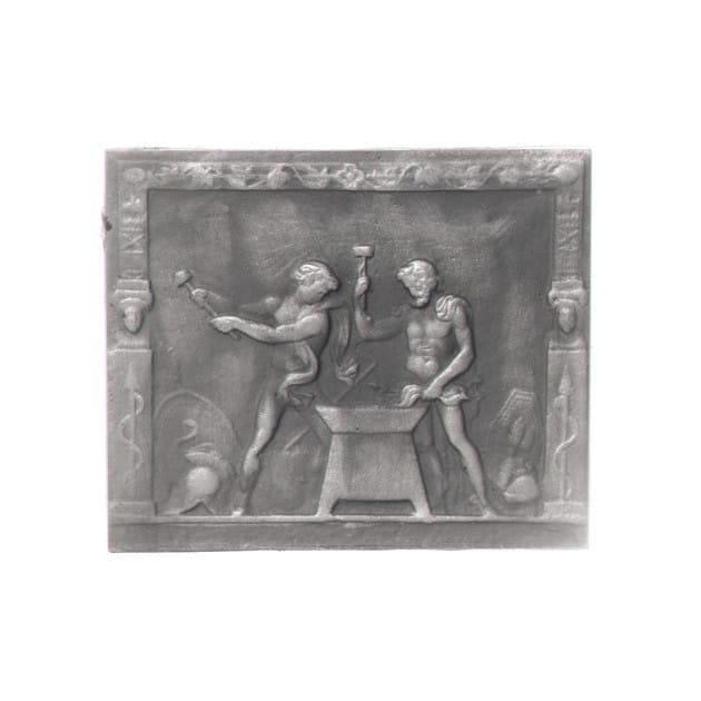 Plaque décorée Rybacki vulcain 56x46 30kg