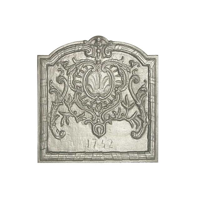 Plaque décorée Rybacki 1742 56x60 37kg