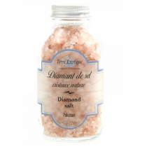 Diamant de sel nature cristaux roses 315 G
