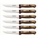 Lot de 6 couteaux à steak marron Tramontina