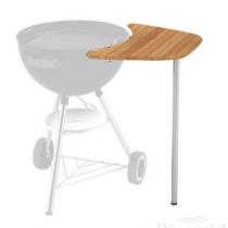 Plan de travail amovible Weber pour barbecue charbon de bois 47 et 57 cm