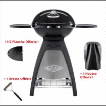 Pack barbecue gaz Bugg noir + accessoires
