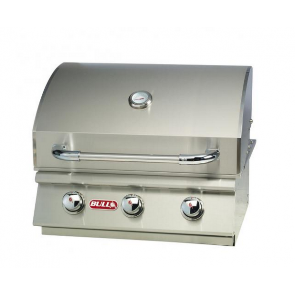 Steer premium un barbecue gaz inox encastrable poss dant 3 br leurs - Barbecue gaz encastrable ...
