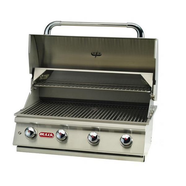 Bi lonestar un barbecue gaz en inox encastrable bull 4 - Bruleur barbecue gaz ...