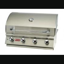 Bi-Lonestar - Barbecue gaz encastrable Bull 4 brûleurs