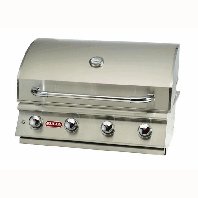 High Quality Bi Lonestar   Barbecue Gaz Encastrable Bull 4 Brûleurs
