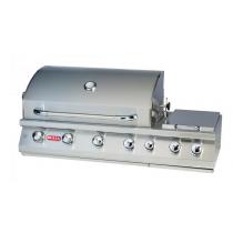 Bi-7 Burner Premium - Barbecue gaz encastrable Bull 4 brûleurs