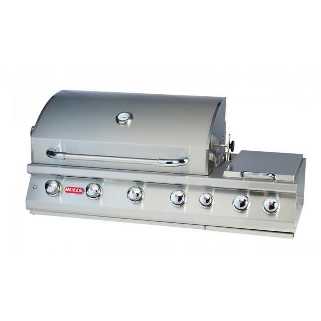 Bi 7 Burner Premium   Barbecue Gaz Encastrable Bull 4 Brûleurs