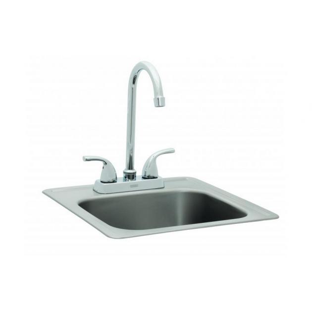 evier avec robinet accessoire petite taille pour cuisine d 39 exterieur. Black Bedroom Furniture Sets. Home Design Ideas