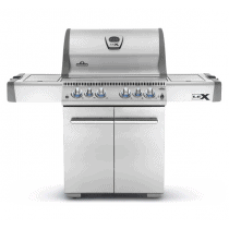 Barbecue gaz Napoleon LEX infrarouge inox 485