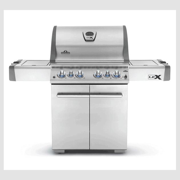 Barbecue gaz Napoleon LEX 485 infrarouge inox