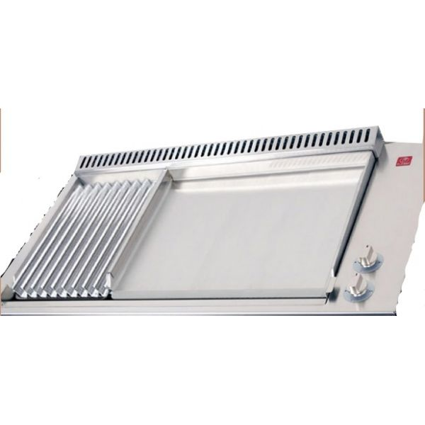 Module encastrable planet clas mix grill 26 et plancha gaz 55 for Plancha gaz encastrable cuisine