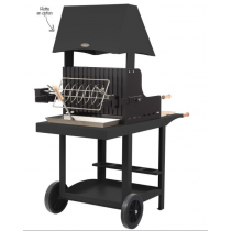 Barbecue charbon de bois Le Marquier Mauleon noir
