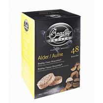 Bisquettes saveur aulne de Bradley - quantité 24